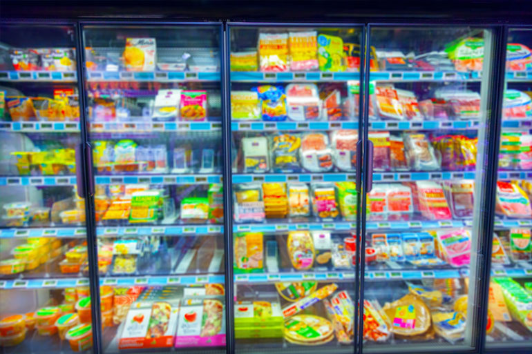 What is the cost of a frozen food recall? Food on shelves.